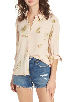 Obey Sinclair Floral Print Shirt
