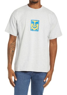 Obey Sketchy Face Graphic Tee