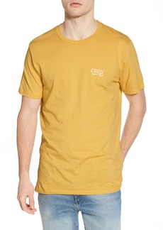 Obey Skewed Script Graphic T-Shirt