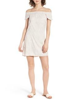Obey Skylar Off the Shoulder Dress