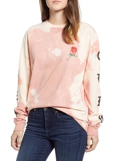 Obey Slauson Rose Bleach Tee