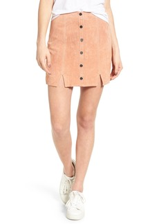 Obey Soho Suede Skirt