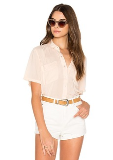 Obey St. Marina Button Down in Coral. - size L (also in XS,S,M)