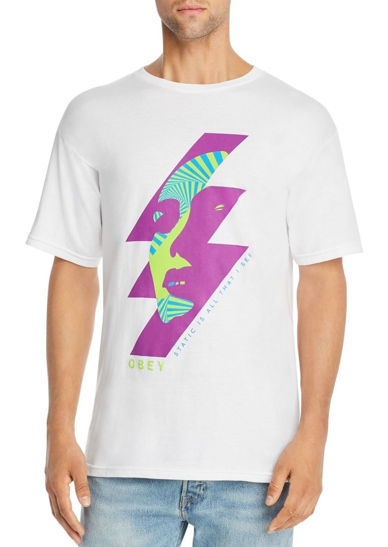 OBEY Static Future Graphic Tee