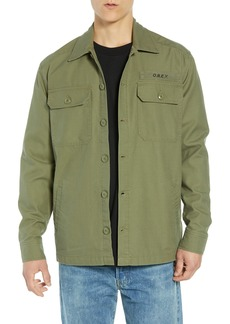 Obey Station Shirt Jacket