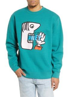Obey Still Hungry Crewneck Sweatshirt
