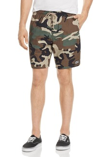 OBEY Subversion Camouflage Regular Fit Shorts