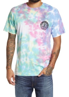 Obey The Rhythm Tie Dye Graphic Tee