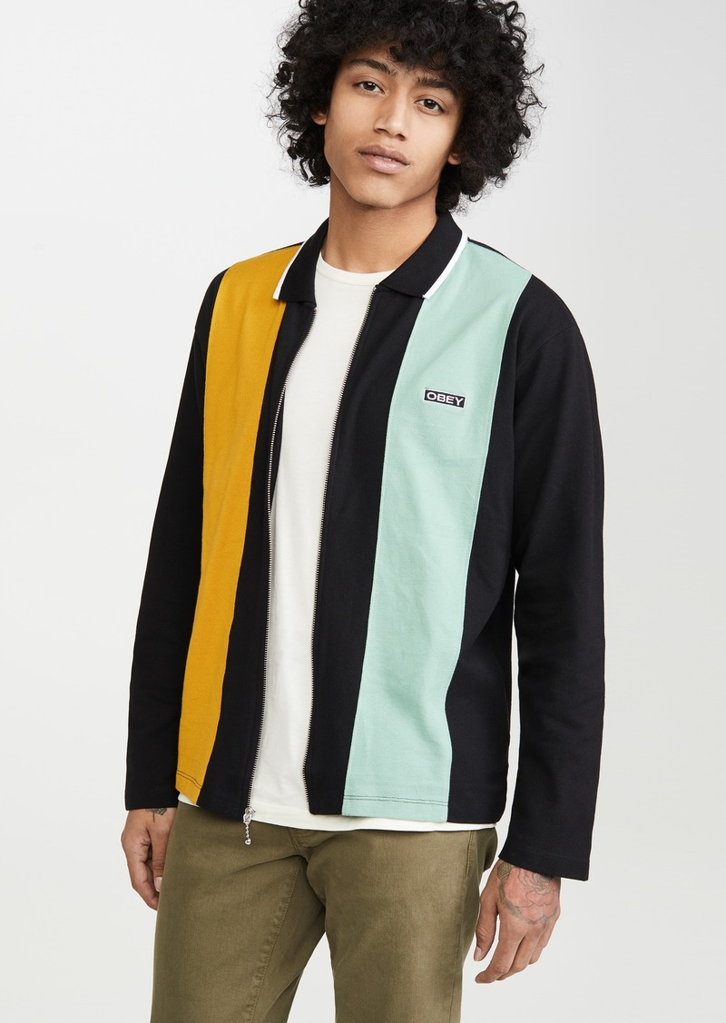 Obey Traffic Zip Polo