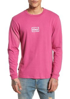 Obey Typewriter Pigment Dyed T-Shirt