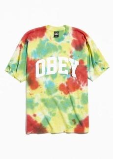 OBEY UO Exclusive Academics Tie-Dye Tee
