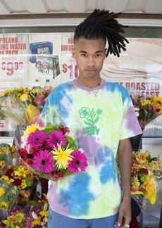 OBEY UO Exclusive Bloom Tie-Dye Tee