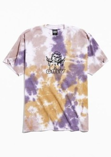 OBEY UO Exclusive Love Is In The Air Tie-Dye Tee