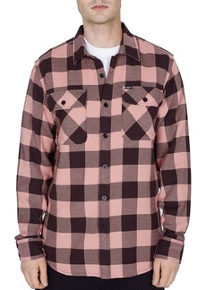 OBEY Vedder Buffalo Check Regular Fit Shirt