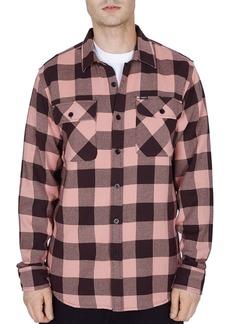 OBEY Vedder Buffalo Check Regular Fit Shirt