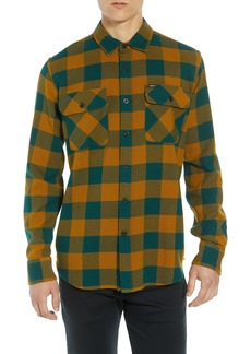 Obey Vedder Buffalo Plaid Flannel Shirt
