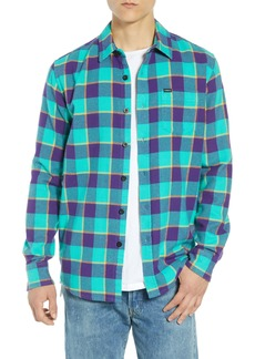 Obey Ventura Plaid Flannel Shirt