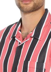 Obey Wicker Stripe Camp Shirt
