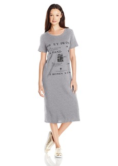 OBEY Women's Be Anywhere Classic Midi Tee Dress