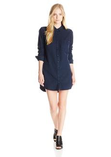 OBEY Women's Bex Plaid Shirt Dress