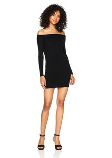 Obey Women's Binx Off The Shoulder Sweater Dress  L