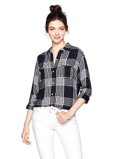 Obey Women's Chelsea Button-Down Shirt  L