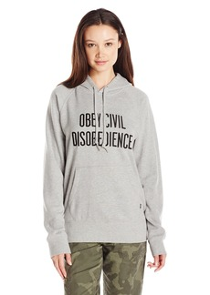 OBEY Women's Civil Disobedience Pullover Hoodie