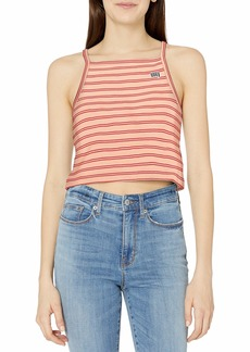 Obey Women's Cropped Knit Tank top