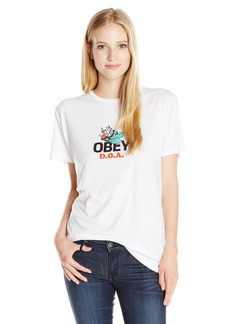 Obey Women's Dead On Arrival Graphic Tee