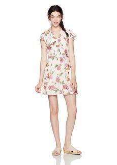 OBEY Women's Desi Cap Sleeve Dress  XXS