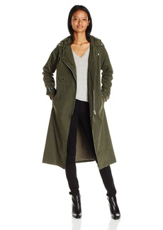 OBEY Junior's Easy Rider Oversized Trench Coat