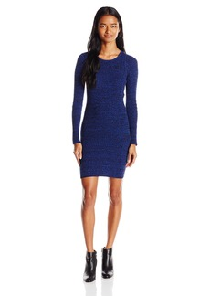 OBEY Women's Hanna Fitted Sweater Dress