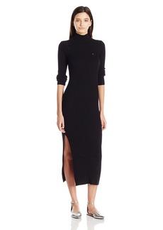 OBEY Women's Hanna Mock Neck Sweater Dress  M