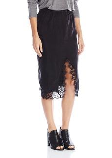 Obey Women's Heart Noir Skirt