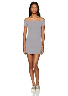 Obey Women's Hi Tide Off The Shoulder Dress  XS