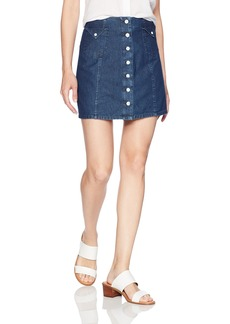 Obey Women's Hudson High Waisted Skirt