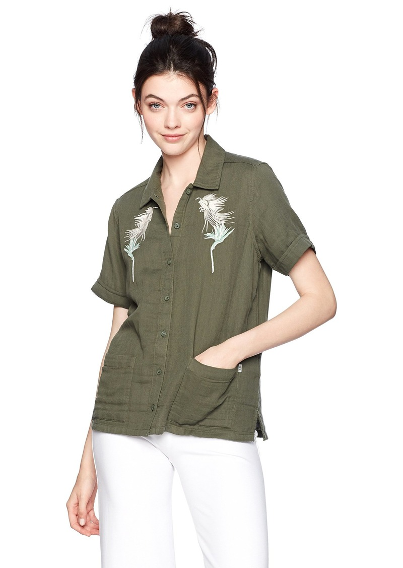 Obey Women's Kingston Shirt  XXS