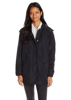 OBEY Junior's Lafayette Mac Jacket with Removable Hood  L