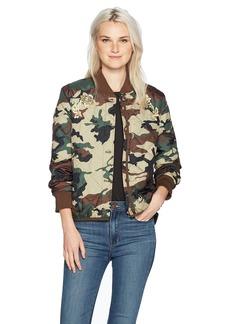 Obey Women's Mercy Jacket camo S