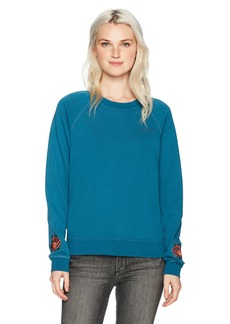 Obey Women's Parkside Crewneck Top surf Spray M