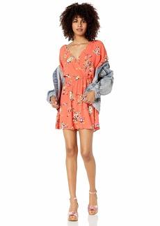 OBEY womens  PINOT DRESS Casual Dress MEDIUM