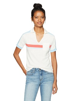 OBEY Women's Road Trippin Polo  S