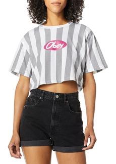 OBEY womens SASS T-Shirt MEDIUM