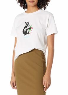 Obey Women's Short Sleeve Shrunken TEE