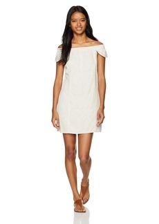 Obey Women's Skylar Off The Shoulder Dress  M