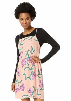 OBEY Women's Sunset Dress  SMALL