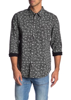 Obey Rosie Print Long Sleeve Shirt