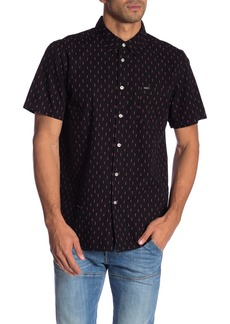 Obey Screw Print Short Sleeve Shirt