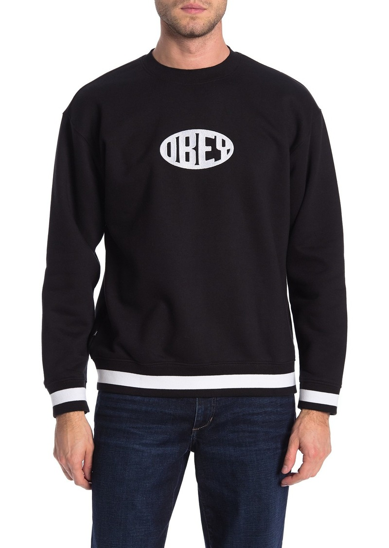 Obey Serge Crew Neck Pullover
