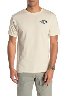 Obey Sharp Graphic Print Tee